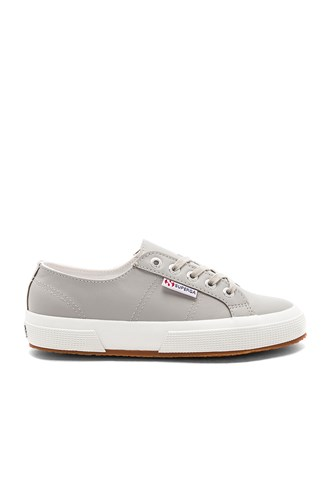 Superga 2750 Leather Sneaker Gray GqCbk