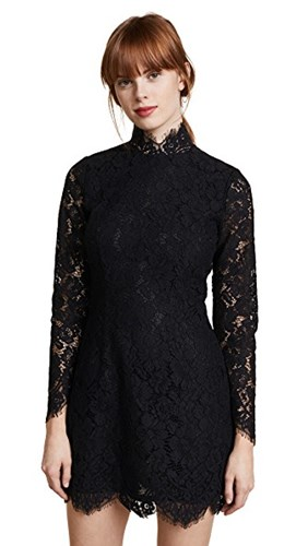 Ganni Lace Dress Jerome Black Black Lace Jerome Ganni Dress CqwfrzSxC