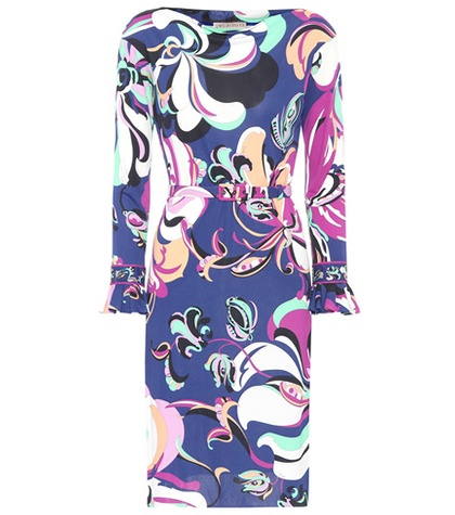 Emilio Pucci Printed Dress Multicoloured kMno5w