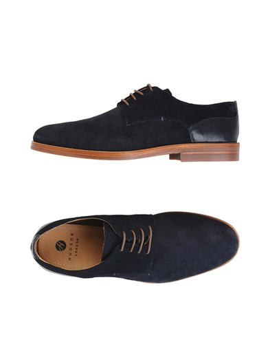 Hudson H By Lace Up Shoes Dark Blue MBDio9R87