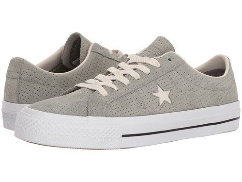 Converse Skate One Star Pro Ox Dark Stucco Driftwood White Shoes Gray tJVRn