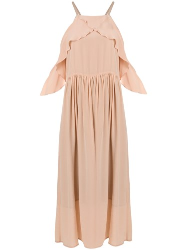 Semicouture Ralph Dress Nude And Neutrals IQ65l10k
