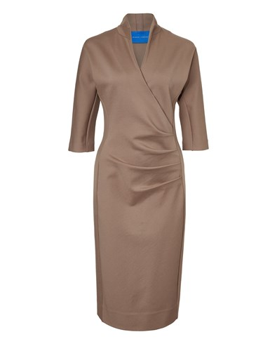 Winser London Grace Miracle Dress Coffee iVMVszW6V