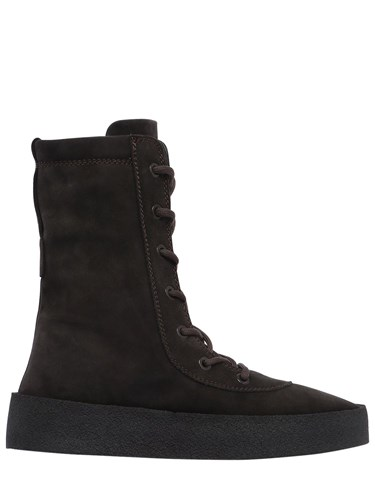Yeezy Suede Lace Up Boots twRZYk