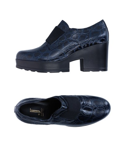 Jeannot Loafers Dark Blue RK7y4mA