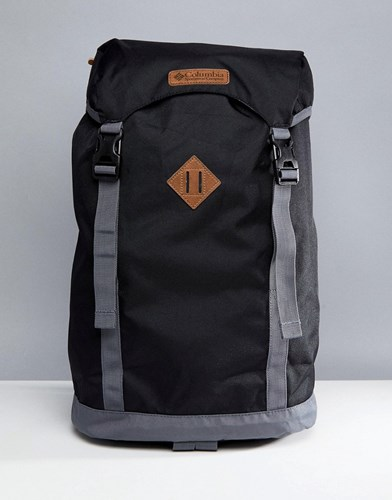 Columbia Outdoor Backpack 25 Litres In Black Black Graphite FucYlcF