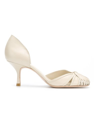 Sarah Chofakian Leather Pumps Nude And Neutrals FeXLg3QXRA