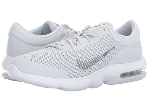 Nike Air Max Advantage Pure Platinum White Wolf Grey Running Shoes 09PrLa1N