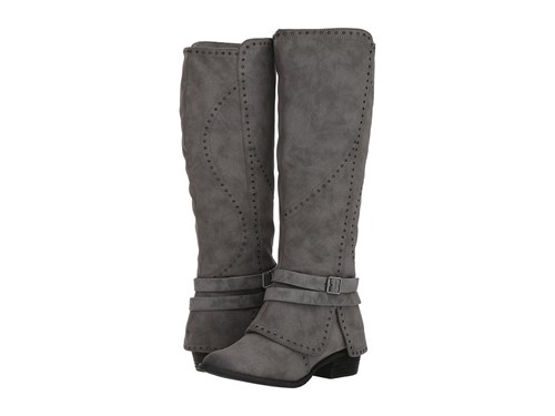 Not Rated Yoko Charcoal Boots Gray tf6cwCdR7g