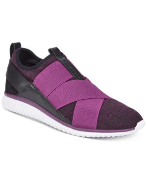 Cole Shoes Plum Knit Haan Trainers Women's Studiogrand Women's rWgTSrY