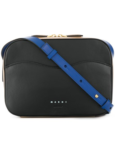 Marni Crossbody Box Bag Black wkuao9QzkK