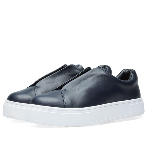 Eytys Doja Leather Slip On Blue ed63N