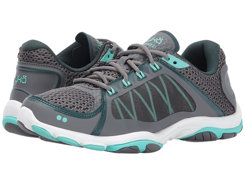 Ryka Influence 2.5 Slate Grey Rich Teal Sunlight Teal Shoes Gray vjBX9GRSf
