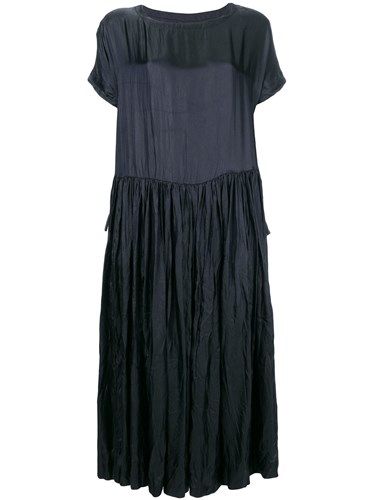 Casey Casey Creased T Shirt Dress Blue kgOjwConXi
