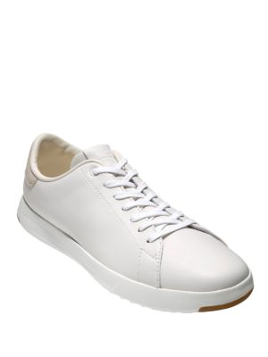 Cole Haan Grandpro Tennis Leather Sneakers White nkie7AUs