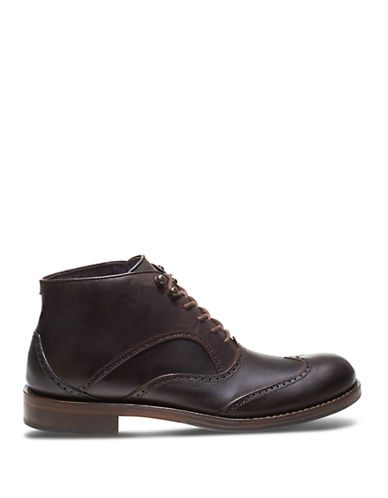 Wolverine Wesley Leather Chukka Boots Brown Py8dH11C