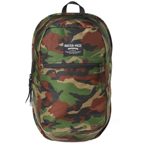 Master Piece Pop 'N' Pack Backpack Green 3wLTVC4a
