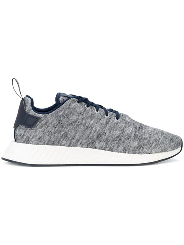adidas Ua And Sons Nmd R2 Sneakers Grey PUWNQ