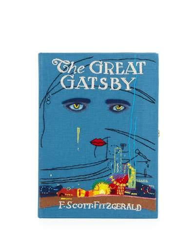 Book Clutch The Le Great Bag Blue Tan Gatsby Olympia TR6Ow