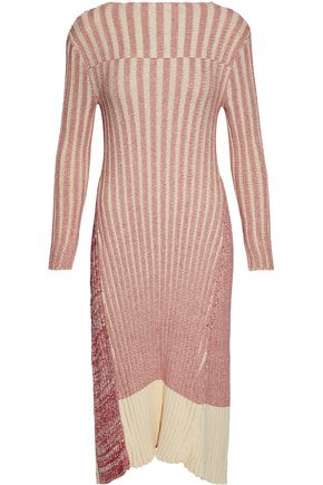 Raoul Paneled Cotton Dress Pink JPWza