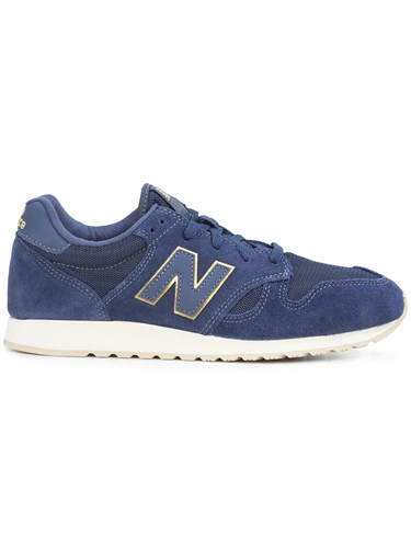 Balance New Sneakers Blue Leather Rubber 520 Suede dqPZqw6R