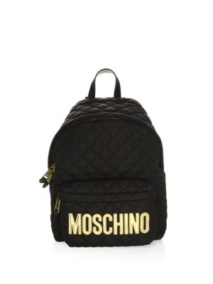 Moschino Quilted Backpack Fantasy JQIhwS