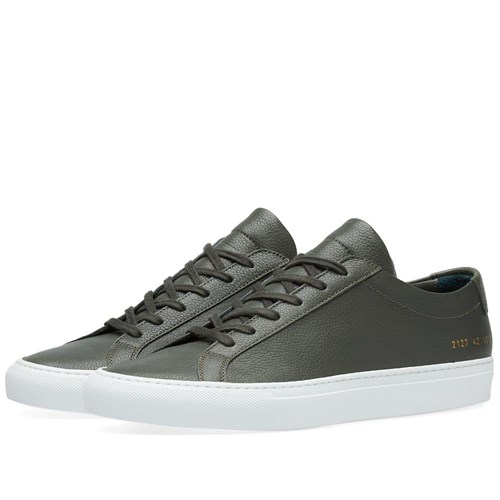 Common Projects Original Achilles Low Premium Green GAoLF