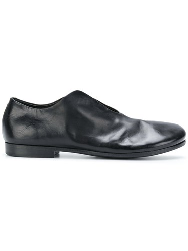 Marsèll Open Front Loafers Leather Rubber Black UTyUylDU8d