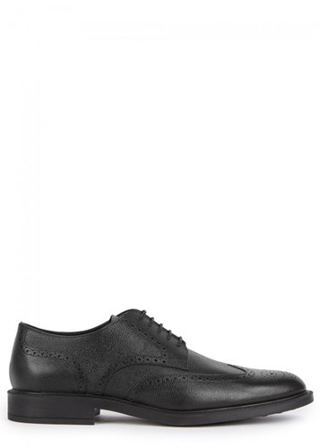 Tod's Black Leather Brogues RkS6WlYRt
