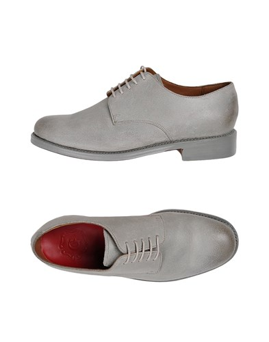 Grenson Lace Up Shoes Light Grey HcQwS68