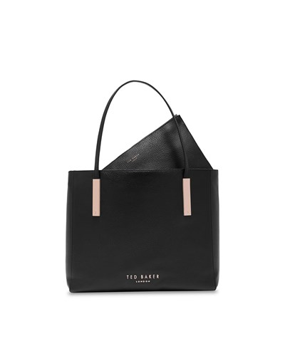 Ted Baker Sarahh Statement Letters Shopper Black 10WO7oH