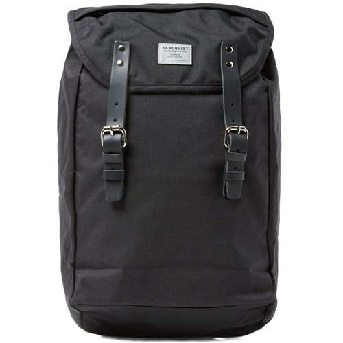 SANDQVIST Hans Hiking Backpack Black And Black NpE1upC7