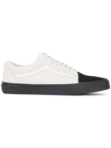 Vans Ua Old Skool Sneakers Leather Suede Canvas Rubber White p1QlMbkJ