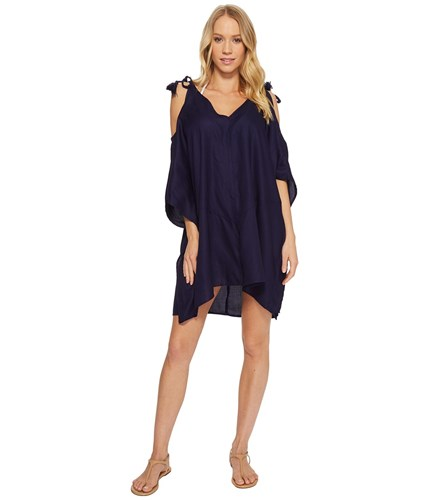 Echo Design Cold Shoulder Dress Navy oezjTLVu
