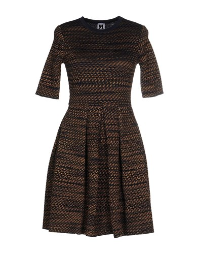 M Missoni Short Dresses Dark Blue 4GoLmU0