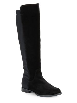 La Canadienne Lilly Suede Boots Black E79iG