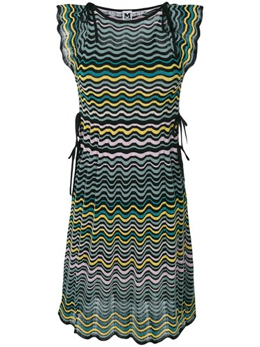Knit M Dress Trim Ruffle Black Missoni ffwTtH