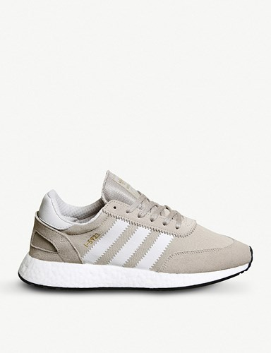 adidas I 5923 Vapour Grey Chalk Suede Trainers sh95WLSuTG