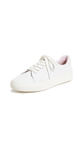 Cotton White Pink Sneakers Sport Reflective Tory IqCwvPv