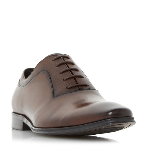 Dune Rancho Embossed Detail Oxford Shoes Brown BcHSdB0
