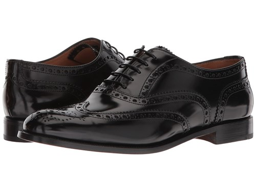 Church's Burwood Wing Tip Oxford Black Lace Up Casual Shoes qinnut