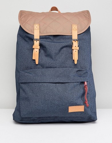 Eastpak London Quilted Backpack Blue hjFvpW