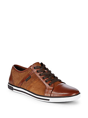 Kenneth Cole Perforated Suede Sport Shoes Rust 6vRPmxu