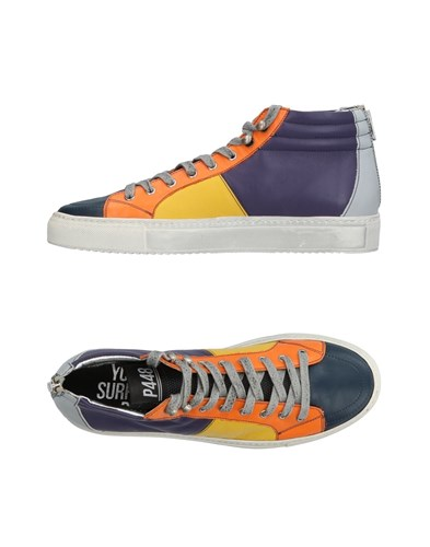 P448 Footwear High Tops And Sneakers Dark Blue fFMQU
