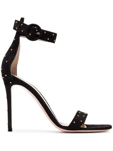 Gianvito Rossi Tyler 105 Sandals Black irk9yL