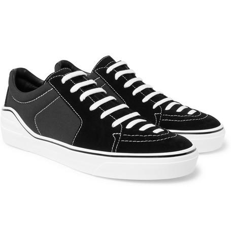 Givenchy Suede And Canvas Sneakers Black pUIFFrt99e