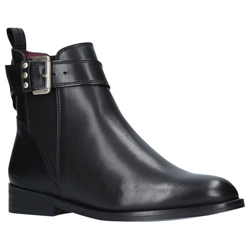 KG by Kurt Geiger Rusty Ankle Boots Black Leather zVlVyneou