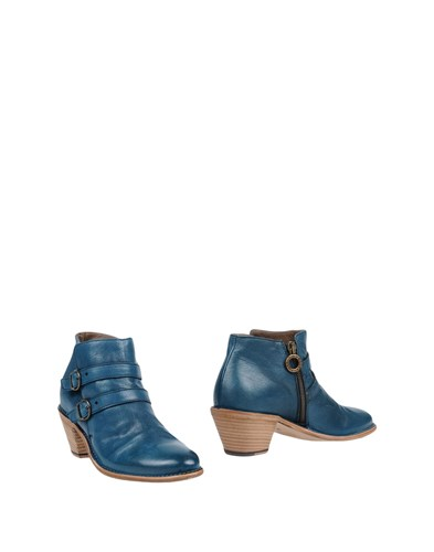 Fiorentini + Baker Ankle Boots Deep Jade WkdC4qmO