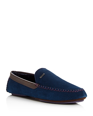 Ted Baker Men's Moriss Suede Moccasin Loafers Dark Blue eeugxW