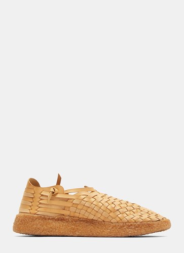 Malibu Sandals Woven Latigo Sneakers Brown FtOIkf